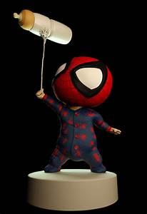 Baby Spiderman by danifrau87 | Cartoon | 3D | CGSociety