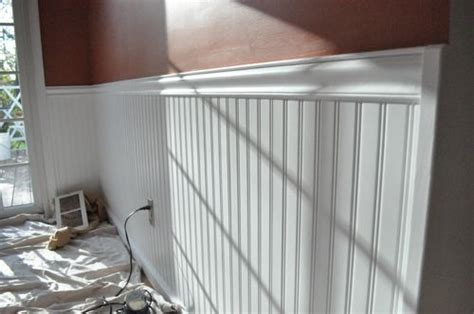 Installing Beadboard Panels : Sealants Direct Paint Blog • How To Install Beadboard