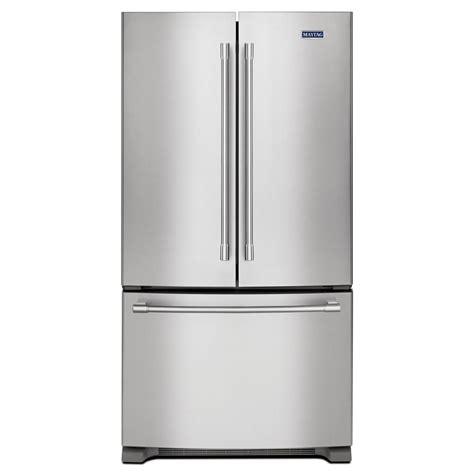 maytag   wide french door refrigerator  cu ft