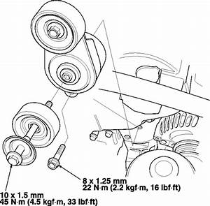 2007 Honda Pilot Serpentine Belt Diagram