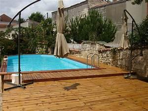 Terrasse Piscine Hors Sol : terrasse avec piscine en bois images ~ Dailycaller-alerts.com Idées de Décoration