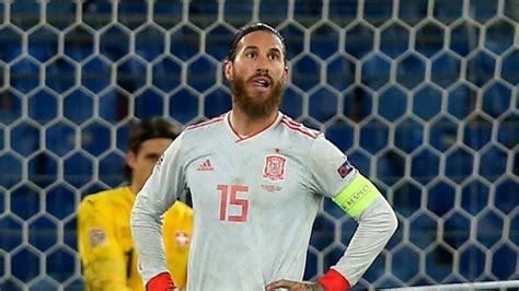 Sergio Ramos has two penalties saved as Spain draw with ...