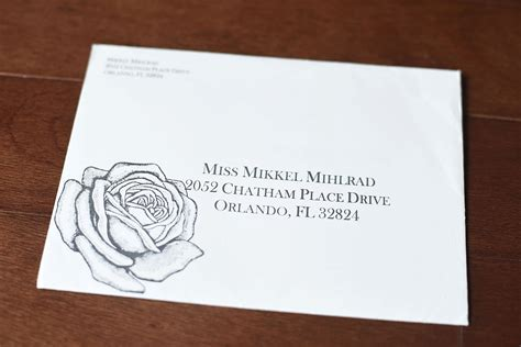 wedding envelope addressing ideas raleigh and nyc