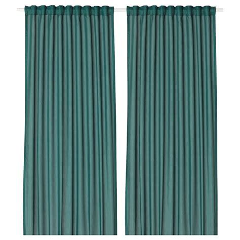 ikea vivan curtains blue vivan curtains 1 pair green blue 145x250 cm ikea