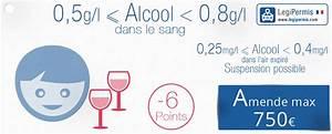 Alcool Jeune Permis : alcool au volant taux perte de points et amende legipermis ~ Medecine-chirurgie-esthetiques.com Avis de Voitures