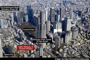 new homes plans 3 200 unit apartment building for nishi shinjuku japan