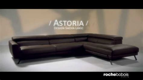 roche bobois canape cuir canapé d 39 angle composable astoria en cuir