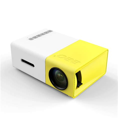 yg 300 lcd mini support 1080p portable led projector home