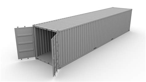Shipping Container Mol 3d Model Obj Fbx Stl Blend Dae