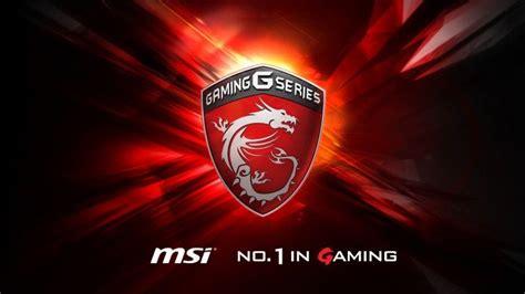 msi gaming  series dragon logo background