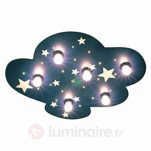 Plafonnier Chambre Bébé : plafonnier nuage xxl fluorescent chambre d 39 enfant et b b pinterest plafonnier chambre ~ Teatrodelosmanantiales.com Idées de Décoration
