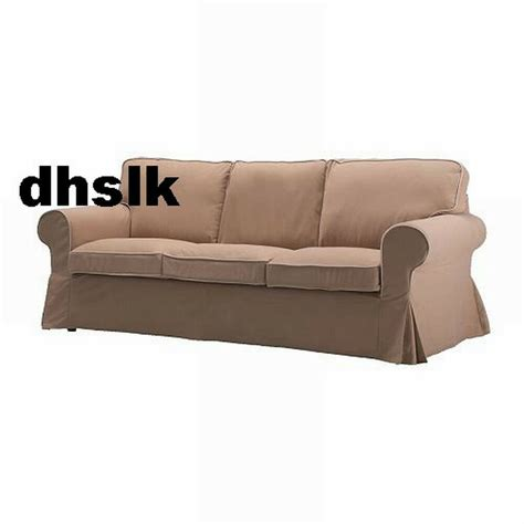 Ikea Loveseat Slipcovers by Ikea Ektorp 3 Seat Sofa Slipcover Cover Idemo Beige W