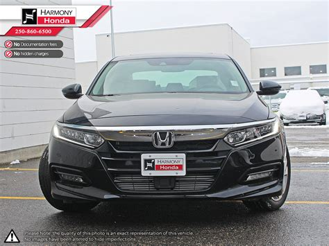 New 2018 Honda Accord Sedan 4 Door Car In Kelowna, Bc 18065