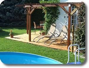 terrassendielen fur 199eur lfm 1372eur m2 balkon With französischer balkon mit pool im eigenen garten
