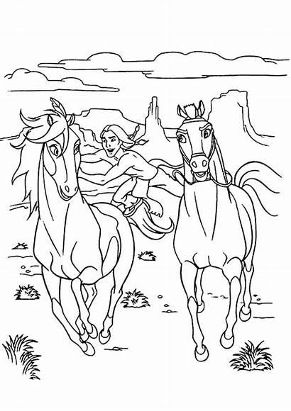 Paard Spirit Kleurplaat Kleuren Nu