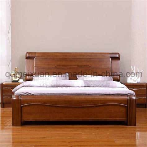 cama de madera maciza modernas camas dobles