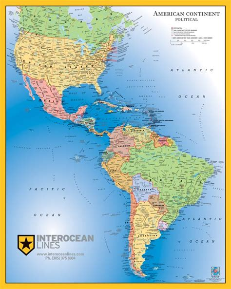 north south america map save creative party ideas