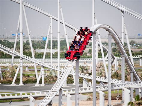 1 Formula Rossa by Thrill Rides At Theme Parks In Dubai Insydo