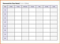 8 weekly timetable template free download Budget