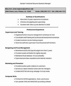 Functional resume template 15 free samples examples for Free functional resume template