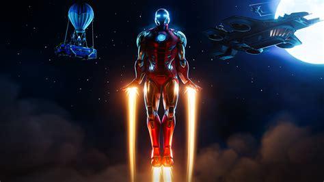 7680x4320 Iron Man Fortnite 8k Wallpaper Hd Games 4k