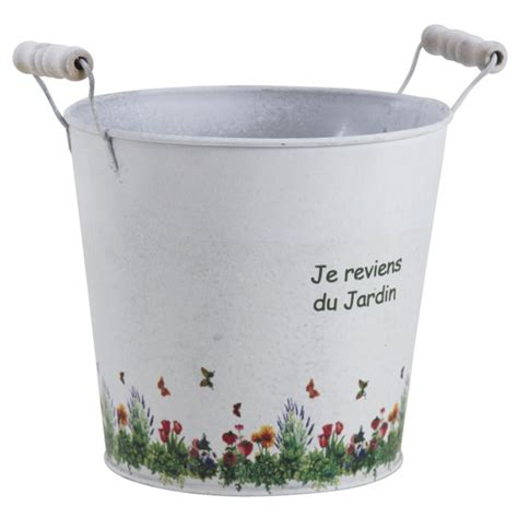 cache pot en zinc jardin gcp1940 aubry gaspard