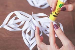 Flocon De Neige En Papier Facile Maternelle : diy fabriquez des flocons de neige en papier dollyjessydollyjessy ~ Melissatoandfro.com Idées de Décoration