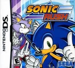 Sonic Rush DS Game