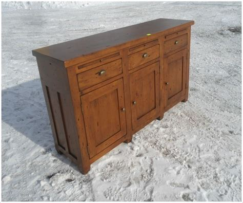 3 Door Sideboard by Reclimed Wood 3 Door Sideboard