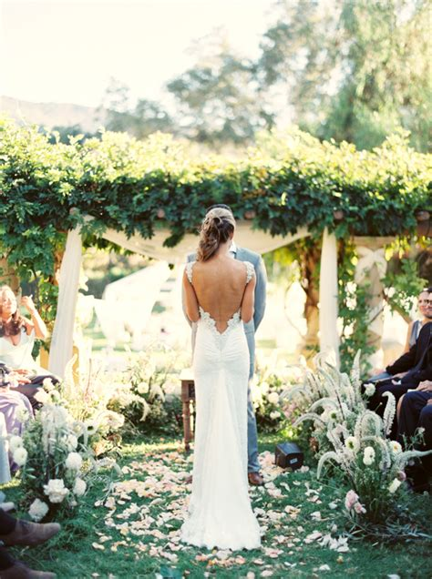 Elegant Ojai Resort Wedding Rustic Outdoor Wedding Ideas