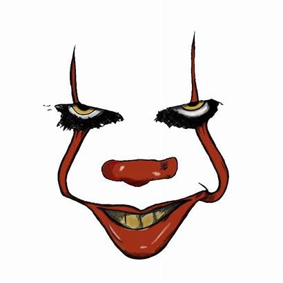 Face Decal Roblox Pennywise Evil Creepy Sticker