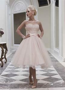 boutique blush pink sheer lace long sleeve wedding dresses With short blush wedding dress