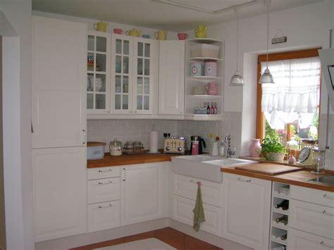 Fliesenspiegel Weiß Küche by Cuisine Bodbyn Wei 195 Ikea Kitchens K 195 188 Che Mit Charme