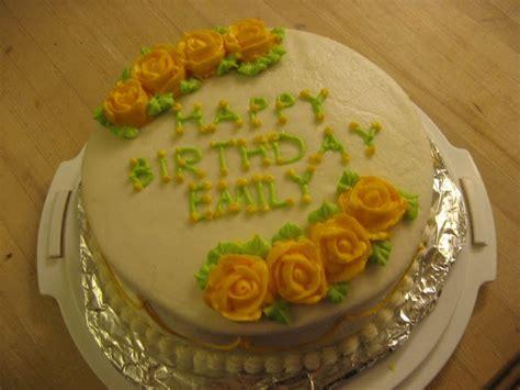 The Pastry Chef Happy Birthday Emily