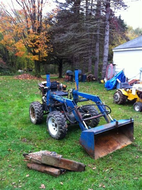 garden tractor loader 129 best garden tractor loaders images on 3734