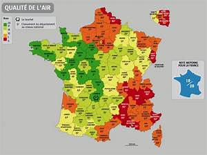 Carte France Pollution : carte de france pollution carte du monde ~ Medecine-chirurgie-esthetiques.com Avis de Voitures