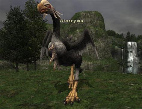diatryma ffxiclopedia  final fantasy xi wiki