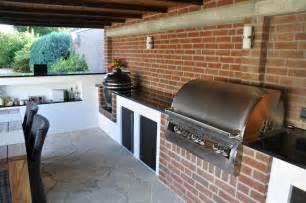 aussenküche grill meine aussenküche mit monolith und firemagic gasgrill bbq in wesel memyself grillt