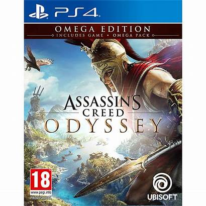 Creed Odyssey Ps4 Assassin Omega Edition Gra