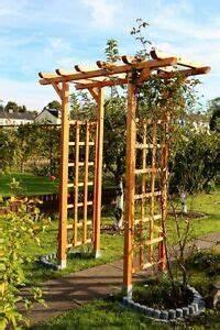 Garten Pergola Holz : rosenbogen pergola spalier gartentor torbogen rankgitter bogen holz ebay ~ A.2002-acura-tl-radio.info Haus und Dekorationen