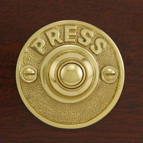 caliban brass doorbell hardware