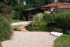 creation de bassin et fontaine cote jardin With creation bassin de jardin
