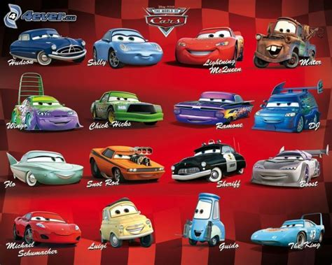 Cars Names by Disney Cars 1 Characters Http Www Stosum Stosum
