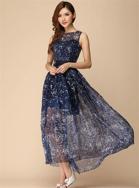 Sex Elegant Fashion Luxury Beading Maxi Dress 0523 Runway
