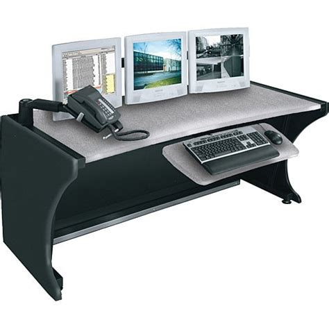middle atlantic desk middle atlantic ld 4830ps 48 quot lcd monitoring command