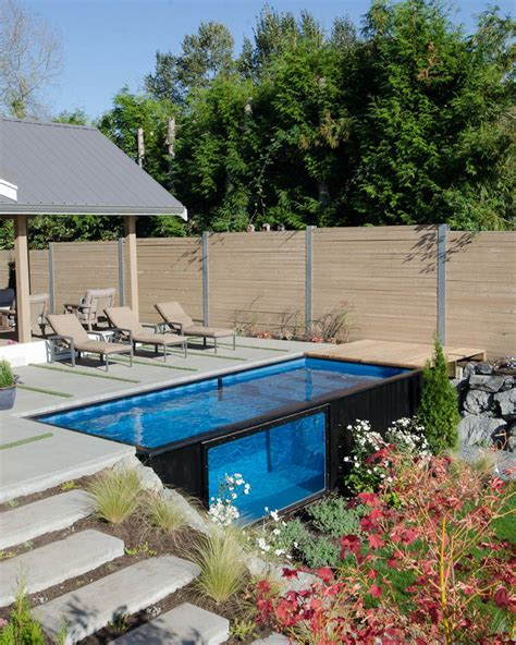 swimming pools for less ship swim mobile cargo container pool on demand