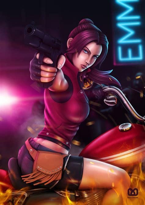 Resident Evil 2  Claire Redfield By Mediamonk On Deviantart