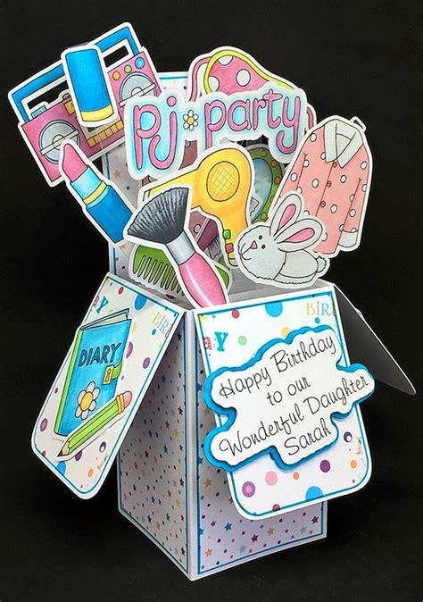 diy pop  box cards kate hadfield designs