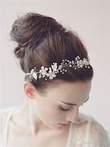 Wedding Bridal Tiaras Hair Accessories Fancy Pearl