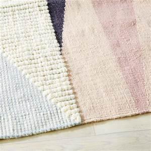Teppich Aus Wolle : gewebter teppich aus wolle und baumwolle mit grafischen motiven 140x200 maisons du monde ~ A.2002-acura-tl-radio.info Haus und Dekorationen